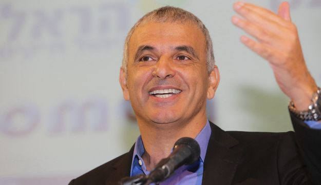 Finance Minister Moshe Kahlon, September 2016.