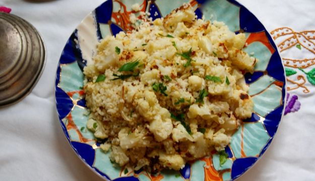 Cauliflower couscous.