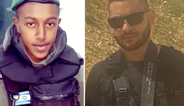 The Israelis shot and killed on Tuesday September 26 by an assailant at the entrance to West Bank settlement Har Adar, First Sgt. Solomon Gabariya and Yossef Outman.