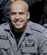 Israeli officer Erez Levy, 37, who was killed during clashes in Umm al-Hiran after allegedly being run over.