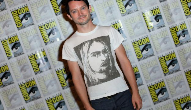 Dirk Gently?s Holistic Detective Agency cast member Elijah Wood poses during an event at Comic Con International in San Diego, California, U.S., July 23, 2017.     REUTERS/Mike Blake
