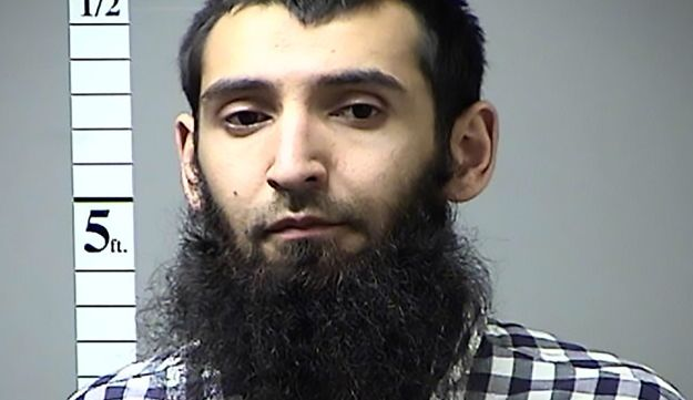 Saifullah Saipov, the suspected driver who killed eight people in New York on October 31, 2017.