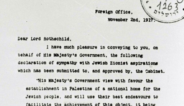 9b361555cf Britain's true motivation behind the Balfour Declaration - Opinion - Israel  News | Haaretz.com
