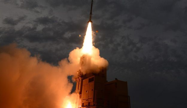 Magic Wand antimissile system being tested on January 25, 2017