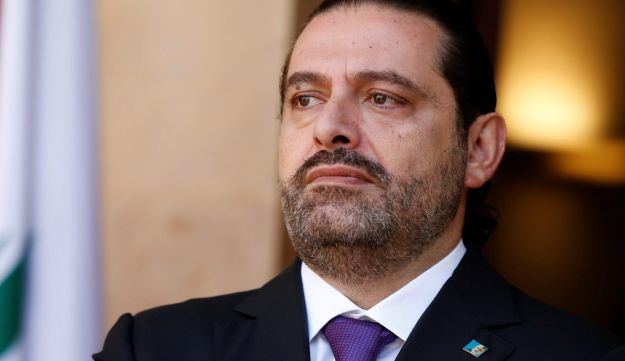 Lebanon's Prime Minister Saad al-Hariri is seen at the governmental palace in Beirut, Lebanon October 24, 2017.