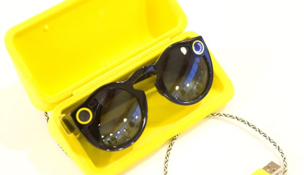 The Snapchat Spectacles.