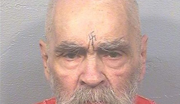 "Charles Manson, the cult leader who sent followers known as the ""Manson Family"" out to commit gruesome murders, at California State Prison in August 2017."