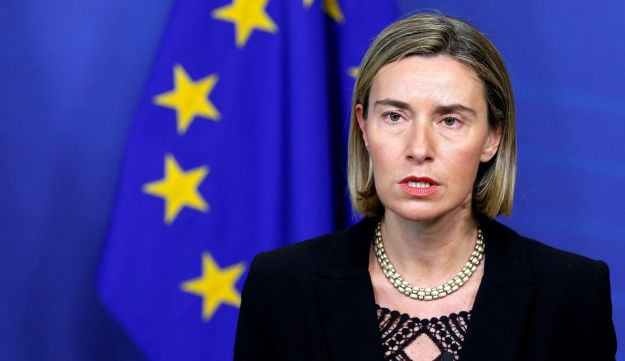 European Union foreign policy chief Federica Mogherini.