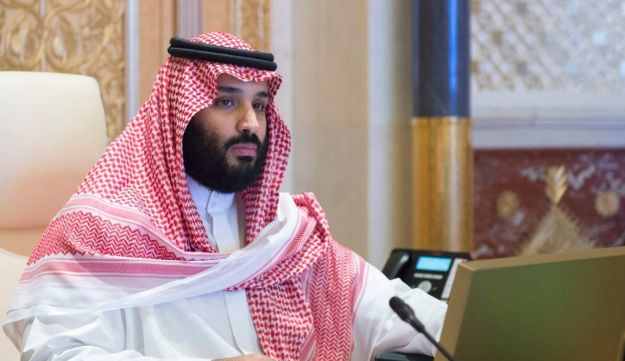 FILE PHOTO: Saudi Crown Prince Mohammed bin Salman presides over a meeting of the Council of Economic and Development Affairs in Riyadh