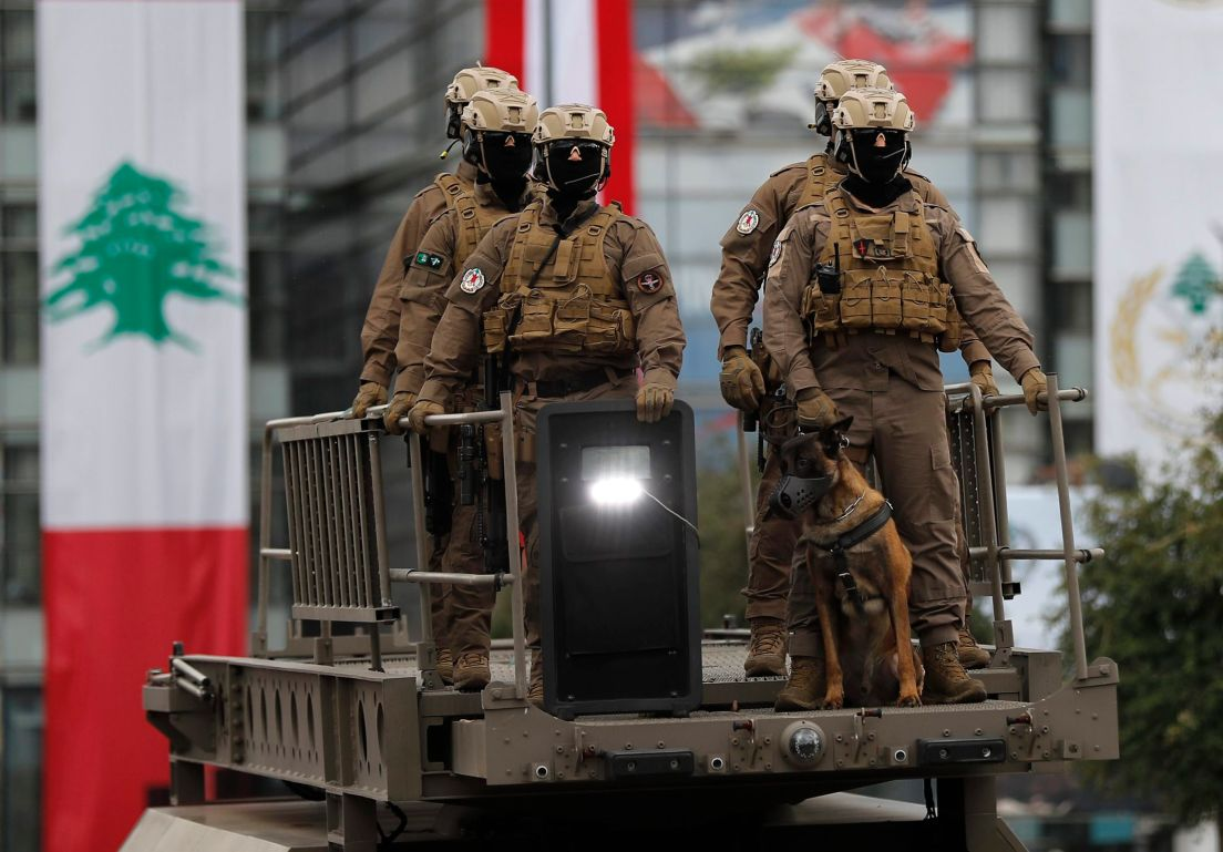 Image result for lebanese army parade""