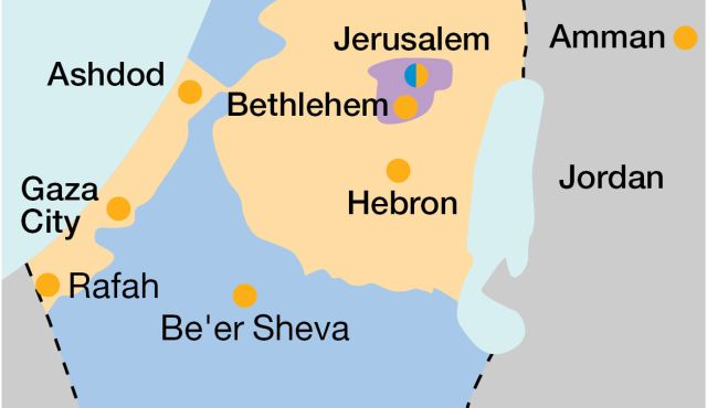 Why the mysterious Swede who drew up Israel's map favored