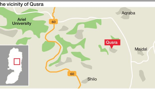 The vicinity of Qusra