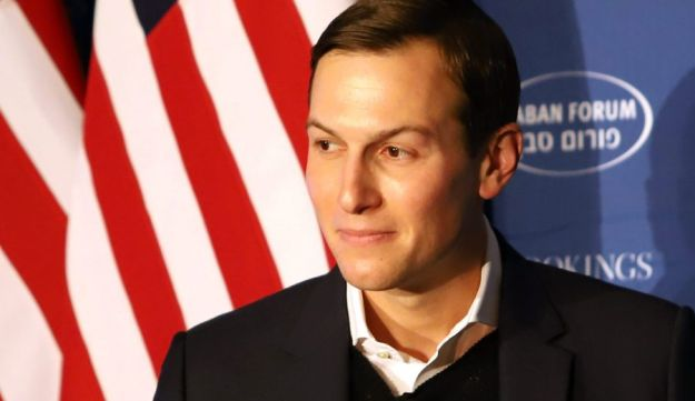 Jared Kushner, senior White House adviser, listens during the Brookings Saban Forum in Washington, D.C., U.S. Dec. 3, 2017