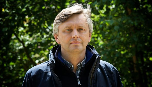 """Sergei Loznitsa, director of the documentary """"Austerlitz"""" about tourism in Holocaust sites, which premiered in America on Feb. 19, 2017."""