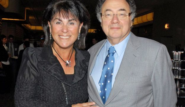 Honey and Barry Sherman, Chairman and CEO of Apotex Inc., are shown at the annual United Jewish Appeal (UJA) fundraiser in Toronto, Ontario, Canada, August 24, 2010.