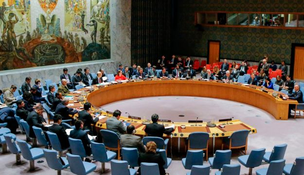 UN Security Council preparing for a vote on a draft resolution rejecting U.S. President Donald Trump's recognition of Jerusalem as the capital of Israel. December 18, 2017