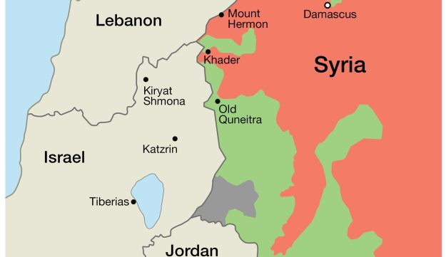 In a new challenge to Israel Syrias Assad sets his sights on Golan