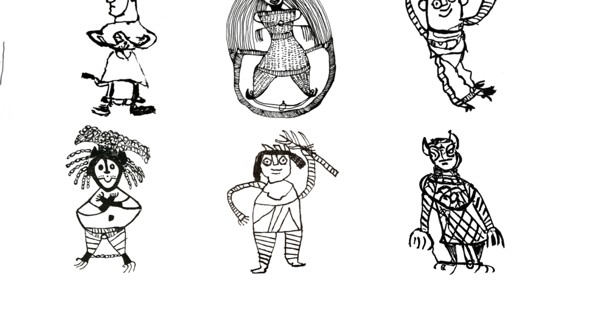 A visual guide to the demons that spooked the Jews of