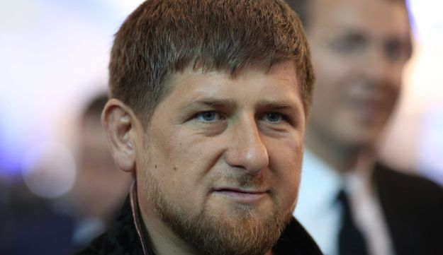 Ramzan Kadyrov, leader of Russia's Chechnya region, arrives to attend a session at the St. Petersburg International Economic Forum (SPIEF) in Saint Petersburg, Russia, on Friday, June 19, 2015.