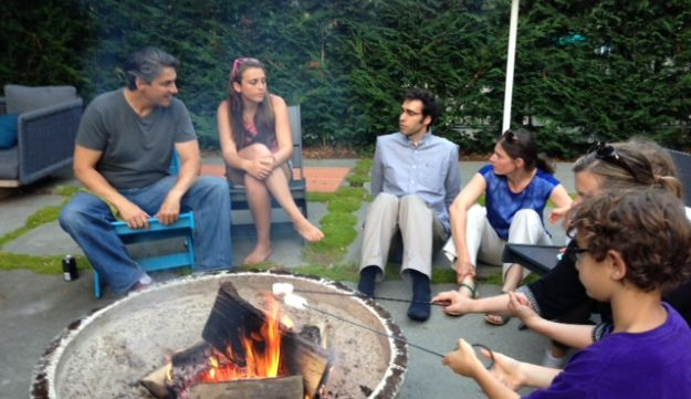 A Kavana Cooperative neighborhood meet-up.