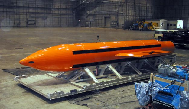 The MOAB - Massive Ordnance Air Blast, or Mother Of All Bombs