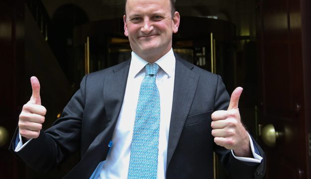 Douglas Carswell, former member of the UKIP and now independent MP in London on April 20, 2017.