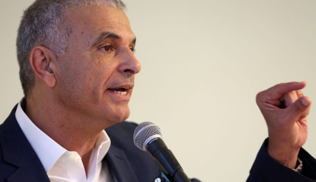 Israeli Finance Minister Moshe Kahlon, April 19, 2017.