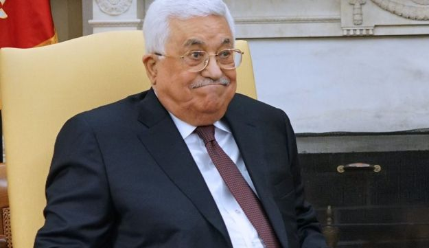 Trump meets with Palestinian Authority President Mahmud Abbas in the White House on May 3, 2017
