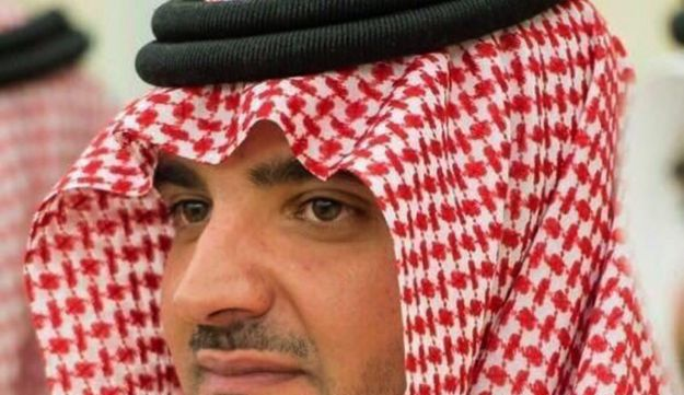 This photo made available Wednesday, June 21 , 2017, by the Saudi official Twitter account for its religious police, known as the Commission for the Promotion of Virtue and the Prevention of Vice, shows the new 33-year-old Interior Minister Prince Abdulaziz bin Saud.