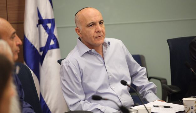 Yoram Cohen, while serving as chief of Israel's Shin Bet security service, in 2014.