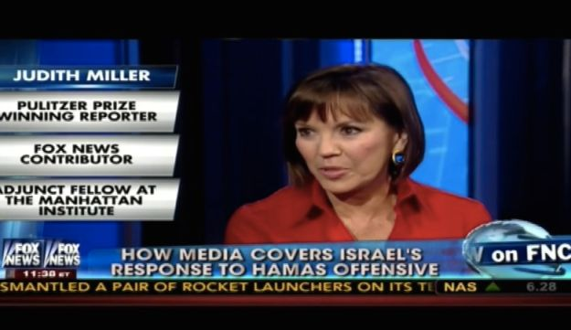 Screenshot of Judith Miller on Fox News