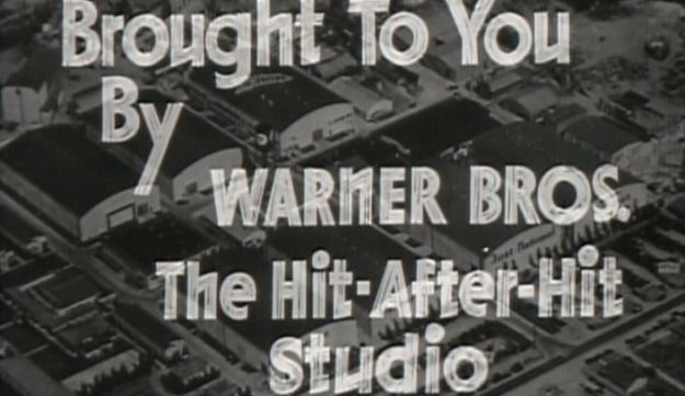 "Warner Bros. logo from the movie ""Petrified Forest"""