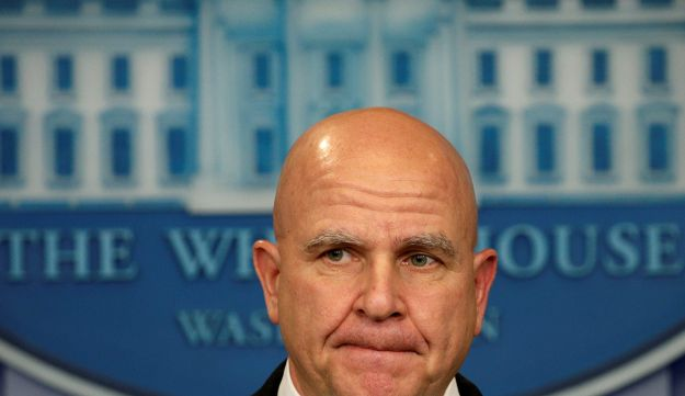 National security adviser H.R. McMaster at the White House in Washington, U.S., May 12, 2017.