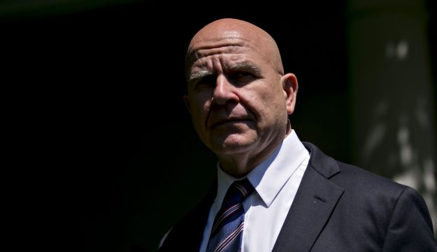 H.R. McMaster, national security advisor, arrives to attend a joint statement with U.S. President Donald Trump and Moon Jae-in, South Korea's president, not pictured, in the Rose Garden of the White House in Washington, D.C., U.S., on Friday, June 30, 2017.