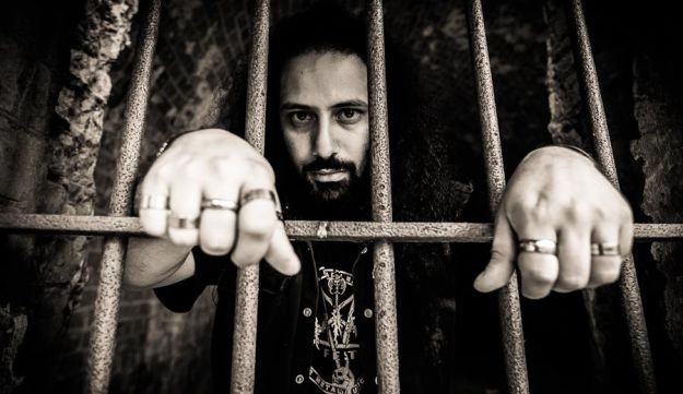 Blaakyum's frontman Bassem grew up in Beirut in the 1990s and was arrested during the regular crackdowns by the Lebanese authorities on heavy metal musicians.