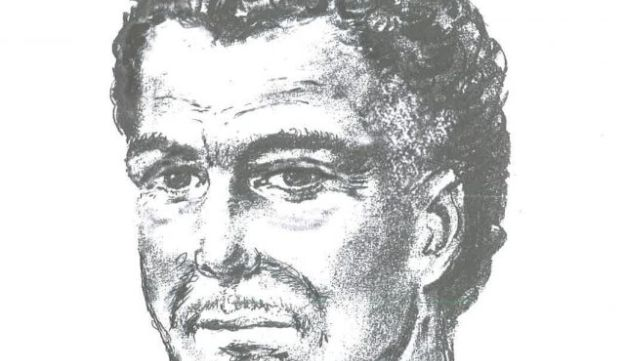 The artist's impression of what the alleged gunman may look like today, released by the Metropolitan Police.