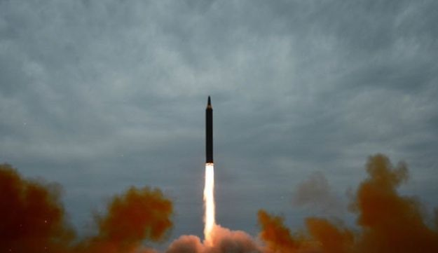 North Korea missile launch on August 30, 2017.