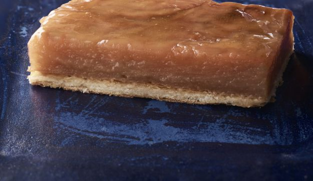 Apple terrine in phyllo pastry.