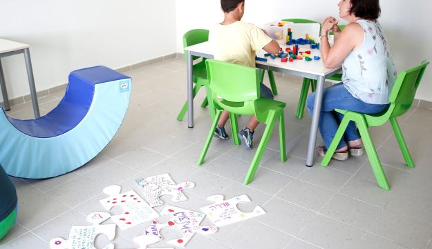 A school for autistic children in Ashdod.