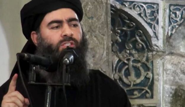 File photo: The Iranian statement follows a Russian claim that Abu Bakr al-Baghdadi was killed in an airstrike in Raqqa, Syria.