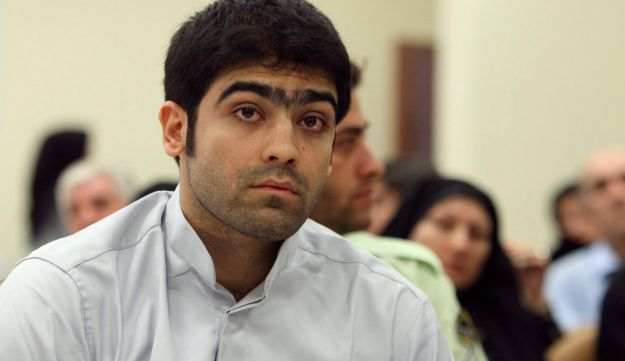 Aug. 23, 2011 file photo, Majid Jamali Fashi during his trial in Tehran, Iran.