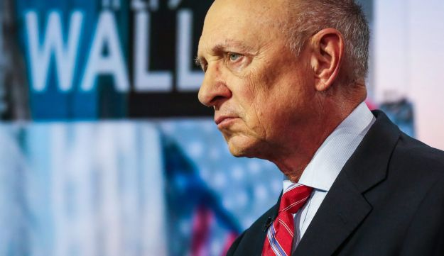 James Woolsey, former director of the CIA, listens during a Bloomberg Television interview in New York, September 14, 2017.
