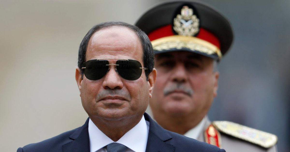 Egypt's Sissi: 'Defaming' Security Forces Is 'High Treason'