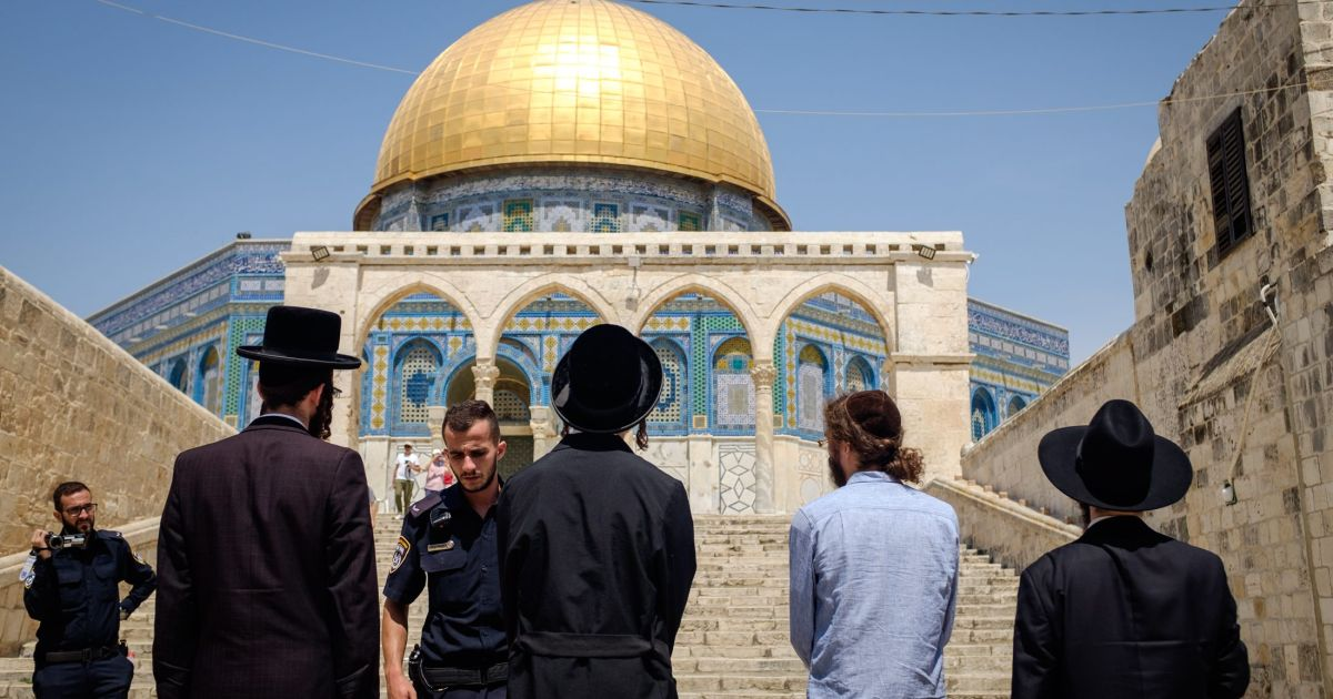 Jew Detector: 75 Percent Rise In Religious Jews Visiting Temple Mount In