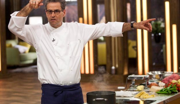 Nowadays Shani is probably best known for his antics as a judge on the reality cooking show Master Chef.