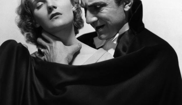 "Bela Lugosi as Count Dracula, with Helen Chandler as his victim (1930). As vampire fiction culture developed, modern Hebrew needed a word. The scholars reviving the language wound up choosing an obscure Aramaic word meaning ""bat""."