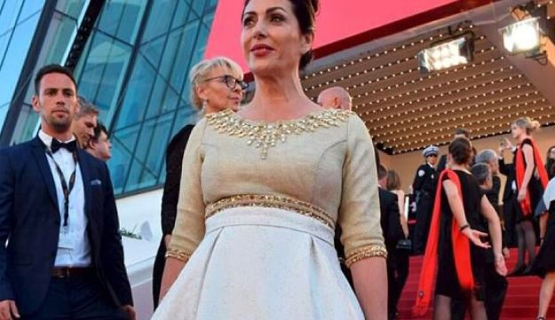 Culture and Sports Minister Miri Regev at the Cannes Film Festival, May 17, 2017.