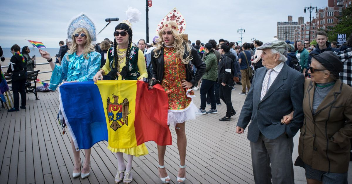 'Homophobia Is Not Kosher': First Russian American Pride Parade Held in  Brighton Beach
