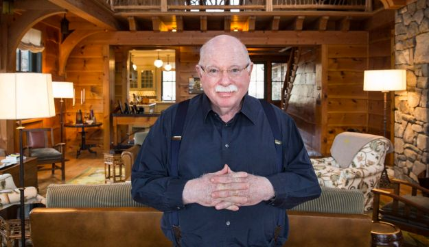Michael Steinhardt at his home in Mount Kisco, March 15, 2013.