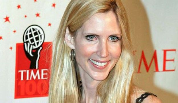 Conservative author Ann Coulter arrives for Time's celebration of the magazine's '100 Most Influential People' in New York in this May 8, 2006 file photo.